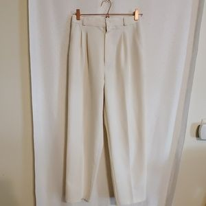 Vintage | 70s Cream Slacks